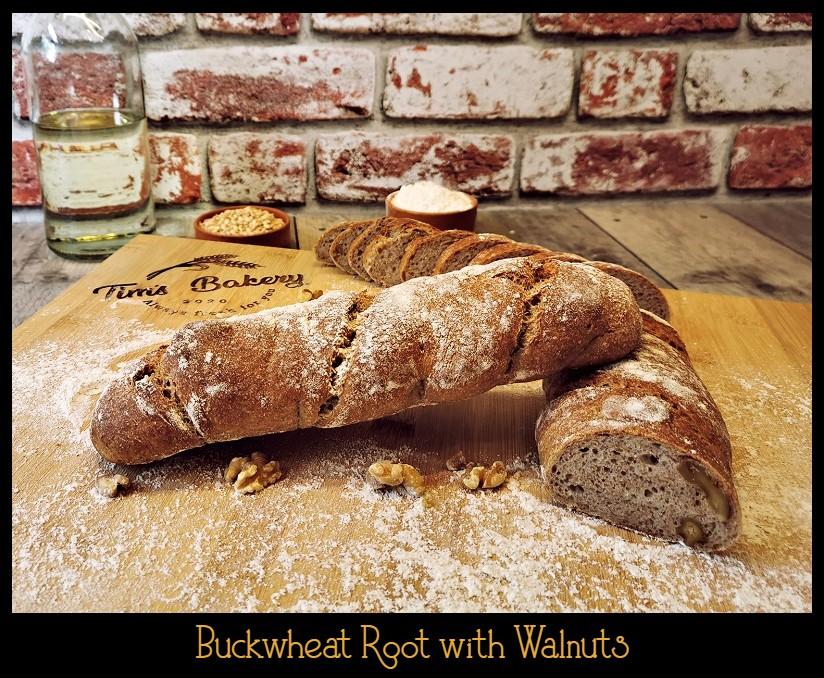 Buckwheat Root with Walnuts