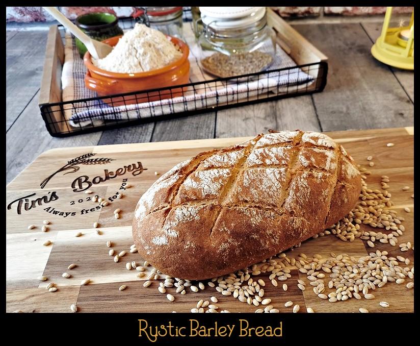 Rustic Barley Bread