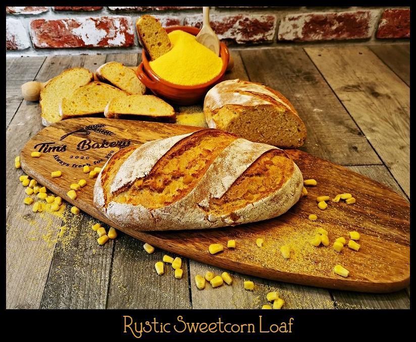 Rustic Sweetcorn Loaf