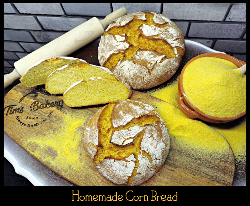 Homemade Corn Bread 570-1000g Featured products